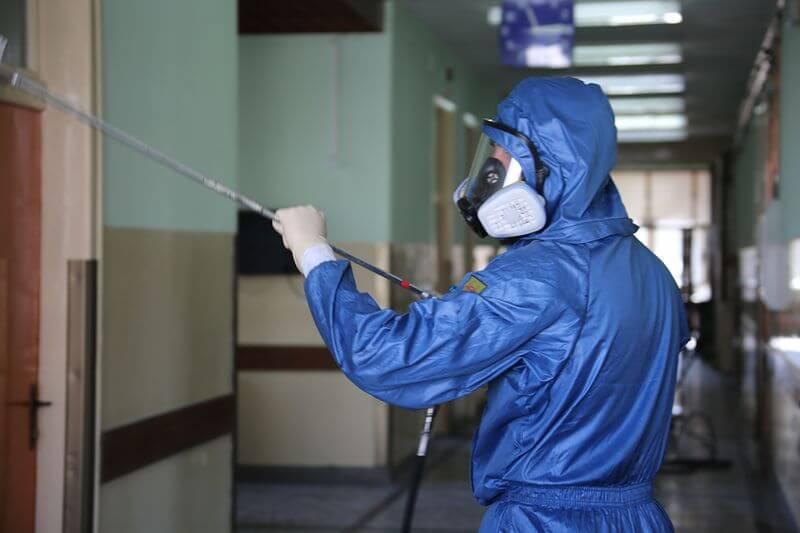 Санитарная обработка от коронавируса